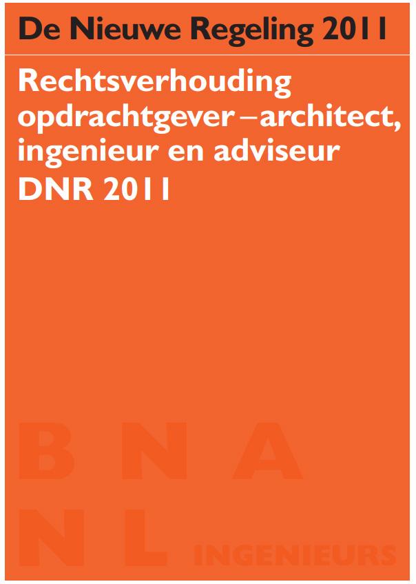 DNR2011, Algemene voorwaarden
